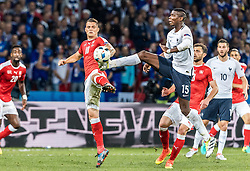 19.06.2016, Stade Pierre Mauroy, Lille, FRA, UEFA Euro, Frankreich, Schweiz vs Frankreich, Gruppe A, im Bild Granit Xhaka (SUI), Paul Pogba (FRA) // Granit Xhaka (SUI), Paul Pogba (FRA) during Group A match between Switzerland and France of the UEFA EURO 2016 France at the Stade Pierre Mauroy in Lille, France on 2016/06/19. EXPA Pictures © 2016, PhotoCredit: EXPA/ JFK