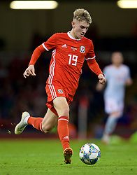 CARDIFF, WALES - Thursday, October 11, 2018: Wales' David Brooks during the International Friendly match between Wales and Spain at the Principality Stadium. (Pic by David Rawcliffe/Propaganda)