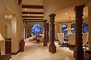Interior design of modern living room in luxury villa