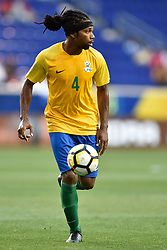 July 7, 2017 - Harrison, New Jersey, U.S - RHUDY EVENS (4) in action during the CONCACAF Gold Cup 2017 at Red Bull Arena in Harrison New Jersey Canada defeats French Guiana 4 to 2. (Credit Image: © Brooks Von Arx via ZUMA Wire)