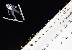 27.02.2019, Seefeld, AUT, FIS Weltmeisterschaften Ski Nordisch, Seefeld 2019, Skisprung, Herren, Training, im Bild Eetu Nousiainen (FIN) // Eetu Nousiainen of Finland during a training of men's Skijumping of FIS Nordic Ski World Championships 2019. Seefeld, Austria on 2019/02/27. EXPA Pictures © 2019, PhotoCredit: EXPA/ JFK