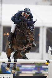 Bossu Francois, (BEL), Chica<br /> Grand Prix CSI 2*<br /> Longines Global Champions Tour - Antwerp 2015<br />  © Hippo Foto - Dirk Caremans<br /> 25/04/15