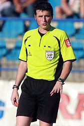 Referee Darko Ceferin  at 6th Round of PrvaLiga Telekom Slovenije between NK Primorje Ajdovscina vs NK Rudar Velenje, on August 24, 2008, in Town stadium in Ajdovscina. Primorje won the match 3:1. (Photo by Vid Ponikvar / Sportal Images)