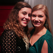 Hannah Laham, left, and Sutton Horger pose for a photo during the Green Party Sunday September 7, 2014 at City Stage Co. (Jason A. Frizzelle)