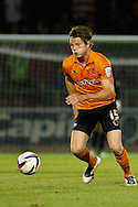 Picture by David Horn/Focus Images Ltd +44 7545 970036.30/08/2012.Bjorn Sigurdarson of Wolverhampton Wanderers during the Capital One Cup match at Sixfields Stadium, Northampton.