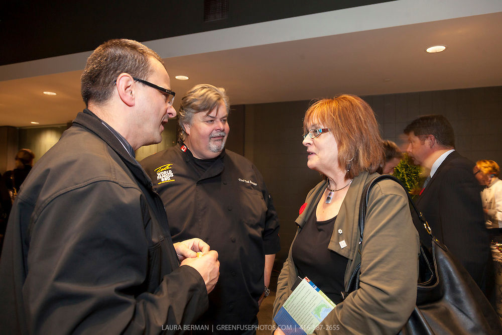 The reception at the Taste Canada Awards Gala, November 5, 2012 at the Arcadian Court, Toronto