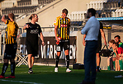 GOTHENBURG, SWEDEN - JULY 19: Johan Hammar of BK Hacken injured during the UEFA Europa League Qualifier match between BK Hacken and FK Liepaja at Bravida Arena on July 19, 2018 in Gothenburg, Sweden. Photo by Nils Petter Nilsson/Ombrello ***BETALBILD***