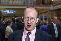 Daniel Finkelstein, journalist, The Times, London.  Taken at Conservative Conference in Blackpool. Ref: 200110104287.<br />