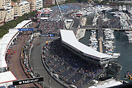 An overview of the pool area with the boxing ring and marina during the practice session for the 2017 Monaco Formula One Grand Prix at the Circuit de Monaco, Monte Carlo<br /> Picture by EXPA Pictures/Focus Images Ltd 07814482222<br /> 25/05/2017<br /> *** UK &amp; IRELAND ONLY ***<br /> <br /> EXPA-EIB-170525-0062.jpg