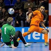 Nederland - Wit Rusland zaalvoetbal