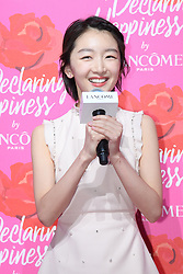 June 21, 2017 - Shanghai, Shanghai, China - Shanghai, CHINA-June 21 2017: (EDITORIAL USE ONLY. CHINA OUT) ..Chinese actress Zhou Dongyu attends an event of Lancome in Shanghai, June 21st, 2017. (Credit Image: © SIPA Asia via ZUMA Wire)