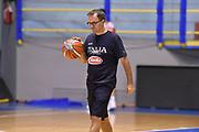 Mario Fioretti<br /> Raduno Nazionale Maschile Senior<br /> Allenamento mattina<br /> Cagliari, 04/08/2017<br /> Foto Ciamillo-Castoria/ A. Scaroni