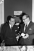 1963 - Friends of the Wine Club group inaugurated at the House of Morgan