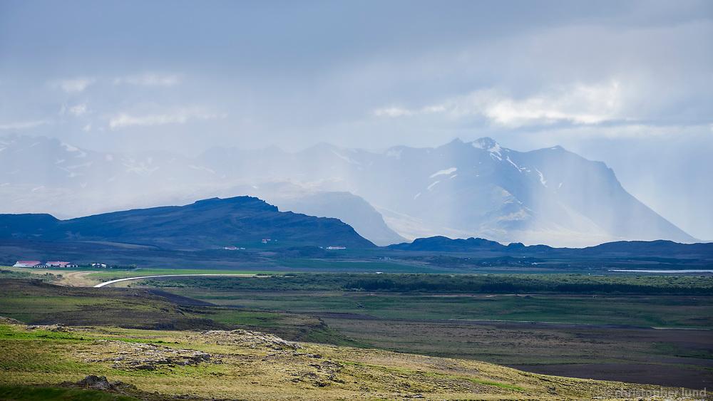 Borgarfjörður, Andakíll. West Iceland