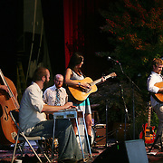 BREVARD, NC - SEPTEMBER 12 :  Shannon Withworth and her band on stage as the Steep Canyon Rangers perform in the Mountain Song Festival at The Brevard Music Center on September 12, 2009, in Brevard, North Carolina, USA. (Photo by Logan Mock-Bunting/Getty Images)