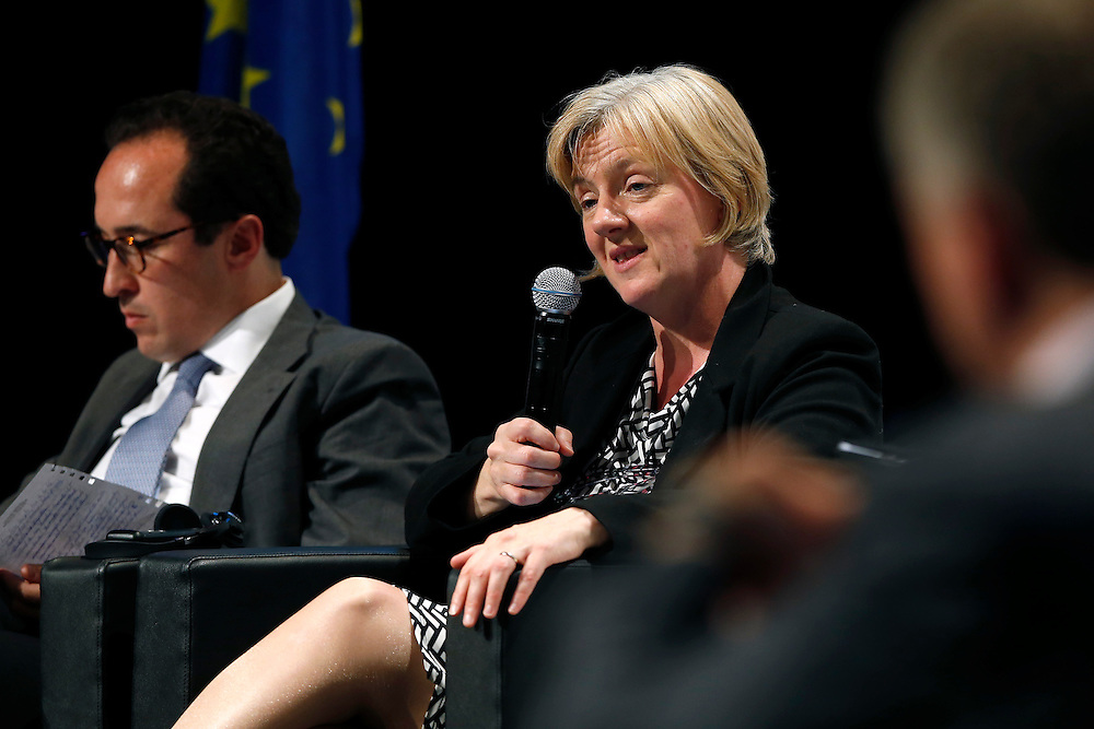04 June 2015 - Belgium - Brussels - European Development Days - EDD - Closing Panel - From development aid to international Cooperation - Linda McAvan , Chair of the Committee on Development , European Parliament © European Union