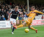 Dundee&rsquo;s Mark O&rsquo;Hara - Motherwell v Dundee, Fir Park, Motherwell, Photo: David Young<br /> <br />  - &copy; David Young - www.davidyoungphoto.co.uk - email: davidyoungphoto@gmail.com