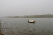 Cat Boat,, Georgica Cove, West End Rd, East Hampton, NY, New York