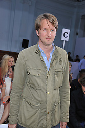 TOM HOOPER at the Sass & Bide fashion show as part of London Fashion Week Spring Summer 2013 held at the Lindley Hall, Royal Horticultural Halls, London SW1 on 14t September 2012.