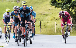 12.07.2019, Kitzbühel, AUT, Ö-Tour, Österreich Radrundfahrt, 6. Etappe, von Kitzbühel nach Kitzbüheler Horn (116,7 km), im Bild v.l.: Stephan Rabitsch (Team Felbermayr Simplon Wels, AUT), Marek Rutkiewicz (Wibatech Merx, POL) // during 6th stage from Kitzbühel to Kitzbüheler Horn (116,7 km) of the 2019 Tour of Austria. Kitzbühel, Austria on 2019/07/12. EXPA Pictures © 2019, PhotoCredit: EXPA/ JFK