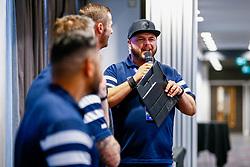 Ian Reed-Downs talks  - Mandatory by-line: Ryan Hiscott/JMP - 22/09/2018 - RUGBY - Ashton Gate Stadium - Bristol, England - Bristol Bears v Harlequins - Gallagher Premiership Rugby