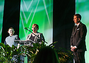 The night was dedicated to Amanda J. Cunningham, a former Ohio University Student who passed away.  Amanda's mother and family accepted an award on behalf of Amanda during the 31st Annual Leadership Awards Gala.