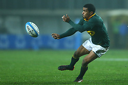 November 25, 2017 - Padova, Italy - Rudy Paige of South Africa in action during the Rugby test match between Italy and South Africa at Plebiscito Stadium in Padova, Italy on November 25, 2017. (Credit Image: © Matteo Ciambelli/NurPhoto via ZUMA Press)