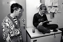 Nottingham 'Help the Homeless' hostel, Canal Street, UK 1989