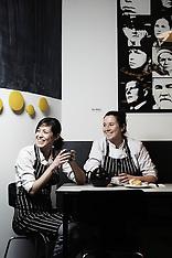 Le Bal Cafe : Alice Quillet and Anna Trattle (Paris, Dec. 2010)