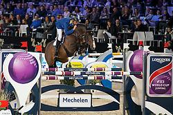 Ahlmann Christian, (GER), Taloubet Z <br /> Longines FEI World Cup presented by Landrover<br /> Vlaanderen Kerstjumping - Memorial Eric Wauters - <br /> Mechelen 2015<br /> © Hippo Foto - Dirk Caremans<br /> 30/12/15