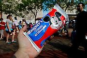 Orlando, Florida, USA, 20090324:   The Disney Animal World in Orlando. Mickey Mouse Ice Cream.Photo: Orjan F. Ellingvag/ Dagbladet/ Corbis