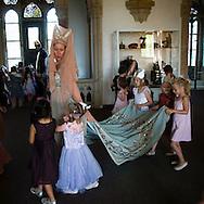 ridders jonkvrouwen en prinsessen op schoolreis naar Bentheim