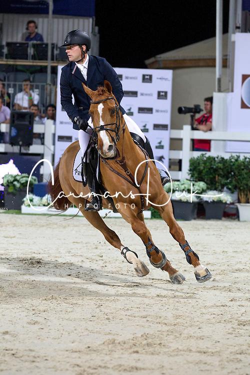 Ehning Johannes (GER) - Salvador V<br /> Final Global Champions Tour - Abu Dhabi 2012<br /> &copy; Hippo Foto - Cindy Voss