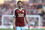 George Boyd of Burnley during the Sky Bet Championship match between Burnley and Middlesbrough at Turf Moor, Burnley, England on 19 April 2016. Photo by Simon Brady.