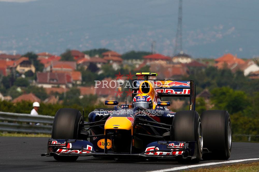 Motorsports / Formula 1: World Championship 2010, GP of Hungary, 06 Mark Webber (AUS, Red Bull Racing),