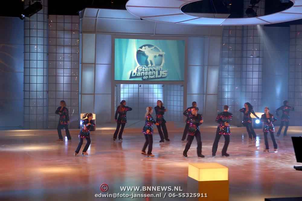NLD/Hilversum/20060818 - Opname RTL Sterren Dansen op het IJs, opname studio