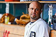30 August 2009: #14 Placido Polanco of the  Detroit Tigers during the MLB game between Tampa Bay Rays and Detroit Tigers at Comerica Park, Detroit, Michigan. Tigers defeated the Rays 4-3.