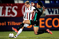 Onderwerp/Subject: Eredivisie<br /> Reklame:  <br /> Club/Team/Country: <br /> Seizoen/Season: 2012/2013<br /> FOTO/PHOTO: Aurelien JOACHIM (BEHIND) of Willem II in duel with Virgil VAN DIJK (FRONT) of FC Groningen. (Photo by PICS UNITED)<br /> <br /> Trefwoorden/Keywords: <br /> #04 $94 ±1355238911262<br /> Photo- & Copyrights © PICS UNITED <br /> P.O. Box 7164 - 5605 BE  EINDHOVEN (THE NETHERLANDS) <br /> Phone +31 (0)40 296 28 00 <br /> Fax +31 (0) 40 248 47 43 <br /> http://www.pics-united.com <br /> e-mail : sales@pics-united.com (If you would like to raise any issues regarding any aspects of products / service of PICS UNITED) or <br /> e-mail : sales@pics-united.com   <br /> <br /> ATTENTIE: <br /> Publicatie ook bij aanbieding door derden is slechts toegestaan na verkregen toestemming van Pics United. <br /> VOLLEDIGE NAAMSVERMELDING IS VERPLICHT! (© PICS UNITED/Naam Fotograaf, zie veld 4 van de bestandsinfo 'credits') <br /> ATTENTION:  <br /> © Pics United. Reproduction/publication of this photo by any parties is only permitted after authorisation is sought and obtained from  PICS UNITED- THE NETHERLANDS