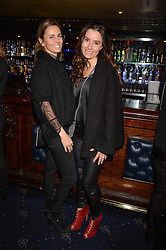 Left to right, Maryam Armstrong and Tana Ramsay at the SheInspiresMe Dance in aid of Women for Women International held at the Café de Paris, 3 Coventry Street, London England. 25 January 2017.