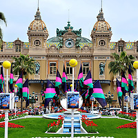 Place du Casino in Monte Carlo, Monaco <br />