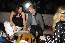 FIFI TRIXIBELLE GELDOF and HENRY CONWAY at a party to celebrate the 1st birthday of nightclub Kitts, 7-12 Sloane Square, London on 5th March 2008.<br /><br />NON EXCLUSIVE - WORLD RIGHTS