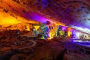 Hang Sung Sot Cave, Halong Bay, Vietnam, Asia