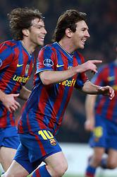 17-03-2010 VOETBAL: BARCELONA - VFB STUTTGART: BARCELONA<br /> Lionel Messi <br /> ©2010- FRH-nph / Tati Quinones
