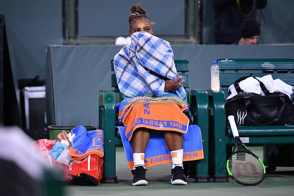 March 9, 2019 - Indian Wells, USA - Serena Williams  (Credit Image: © Panoramic via ZUMA Press)