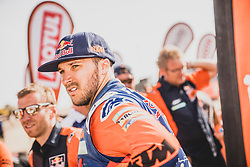 Sam Sunderland (GBR) of Red Bull KTM Factory Teamat the finish line after the last stage of Rally Dakar 2019 from Pisco to Lima, Peru on January 17, 2019. // Flavien Duhamel/Red Bull Content Pool // AP-1Y5HFV9912111 // Usage for editorial use only // Please go to www.redbullcontentpool.com for further information. //