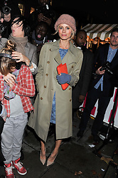 LAURA BAILEY at a party to celebrate the switching on of the Christmas Lights at the Stella McCartney store, Bruton Street, London on 29th November 2011.