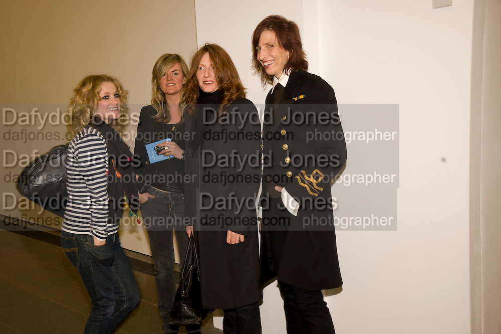 LISA GUNNING; ALISON GOLDFRAPP; NICOLA TYSON; LAURIE WEEKS. , Rebecca Warren exhibition opening at the Serpentine Gallery. London.  9 March  2009 *** Local Caption *** -DO NOT ARCHIVE -Copyright Photograph by Dafydd Jones. 248 Clapham Rd. London SW9 0PZ. Tel 0207 820 0771. www.dafjones.com<br /> LISA GUNNING; ALISON GOLDFRAPP; NICOLA TYSON; LAURIE WEEKS. , Rebecca Warren exhibition opening at the Serpentine Gallery. London.  9 March  2009