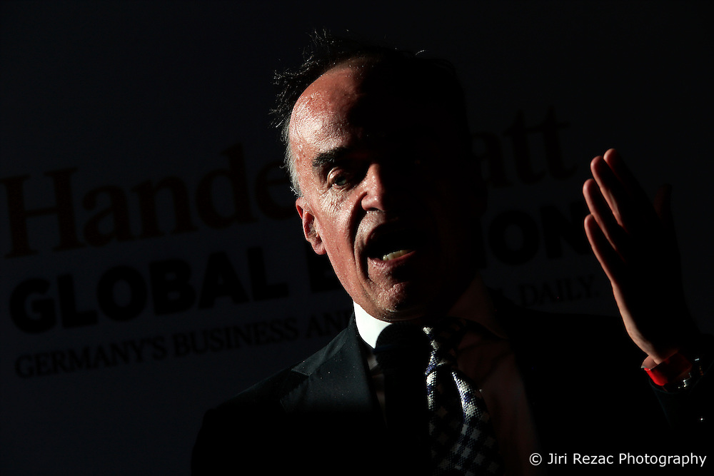 UK ENGLAND LONDON 21JUN16 - Lenny Fischer of Finanzinvestors RHJ International speaks during a podium discussion hosted by the Handelsblatt editorial office in Hoxton, London.<br /> <br /> jre/Photo by Jiri Rezac<br /> <br /> &copy; Jiri Rezac 2016
