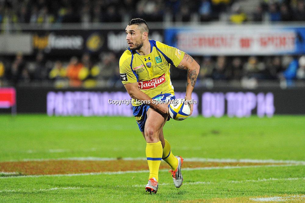 Ludovic Radosavljevic  - 13.03.2015 - Clermont / Begles Bordeaux  -  20eme journee de Top 14<br /> Photo : Jean Paul Thomas  / Icon Sport<br /> <br />   *** Local Caption ***