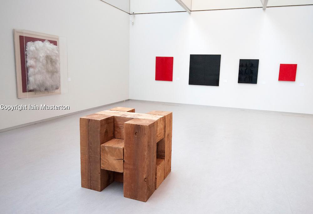 Modern art at Kroller-Muller Museum in The Netherlands